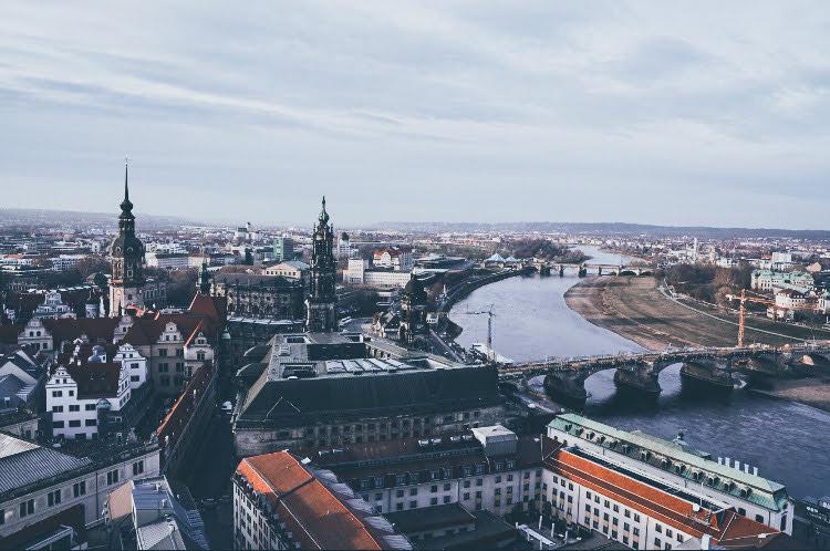 Dresden Panorama Frauenkirche Dresden